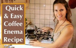 Cara melakukan enema kopi organik
